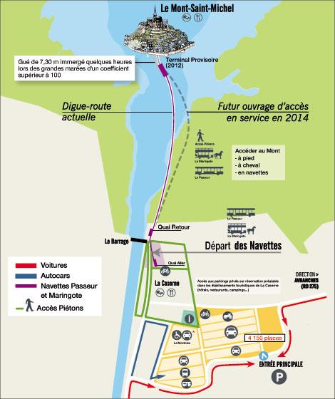 Le Mont Saint-Michel en maringotte Mont