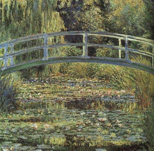 Waterlily pond, Claude Monet Claude_Monet-Waterlilies