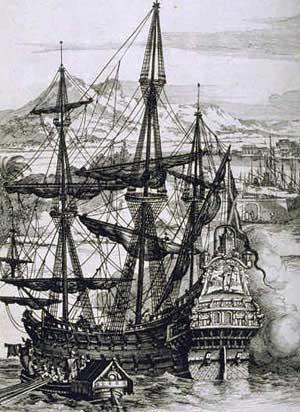 حصرى للمنتدى/قراءة في الخلفية التاريخية لتطور القوة البحرية+(صور) Spanish_Galleon