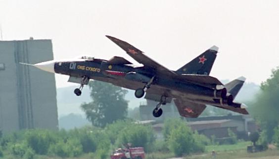 """المقاتلة التجريبية """"سو -47 بيركوت"""" S-37_3_-_cropped"""
