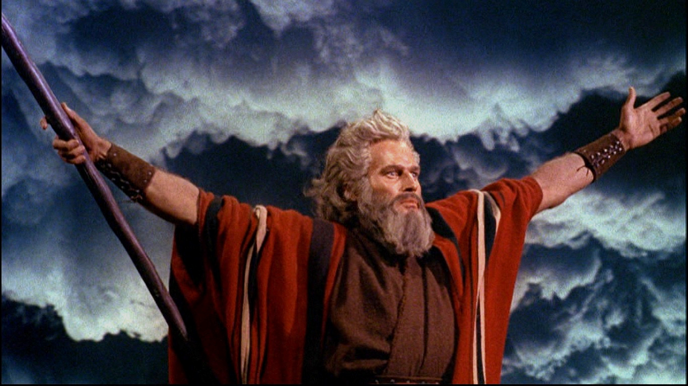 Popular 1,Abril 2014   - Página 2 Charlton_Heston_in_The_Ten_Commandments_film_trailer