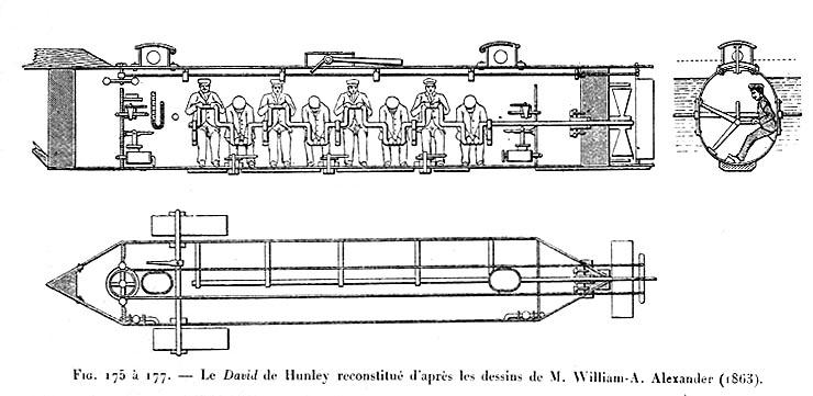 Un inventor de barcos de vapor y un intrépido capitán pretendieron liberar a Napoleón en submarino Hunley-1