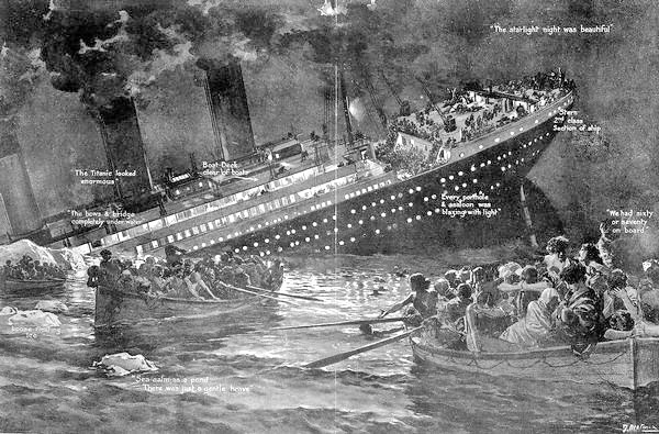 One week later... Titanic_the_sinking