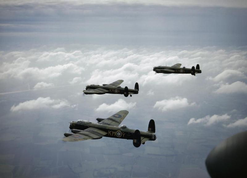 Avro Lancaster Lancaster_B_MkI_44_Sqn_RAF_in_flight_1942