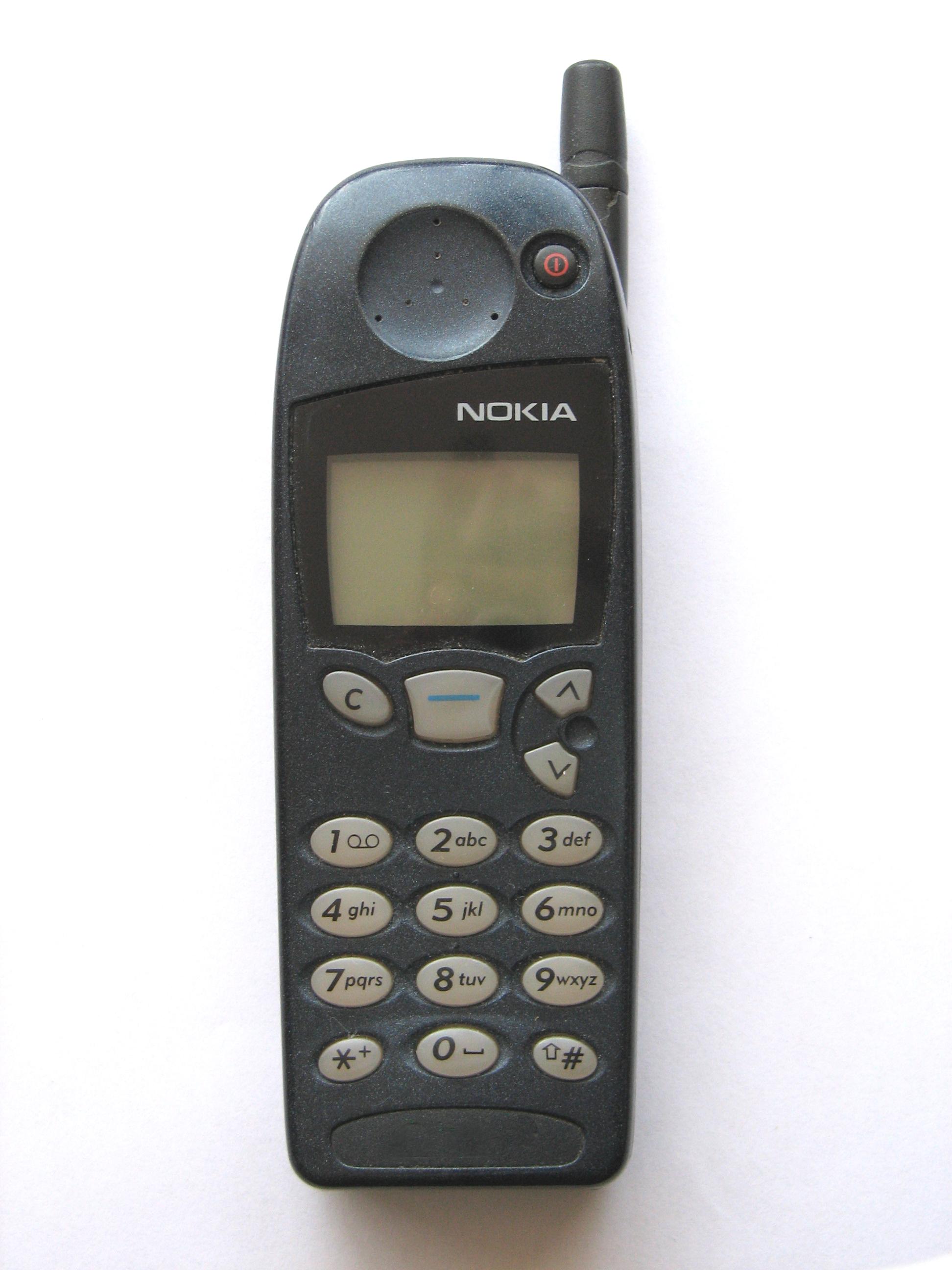 Mans pirmais mobilais telefons, vai kādi telefoni man ir bijuši - Page 2 Nokia_5110