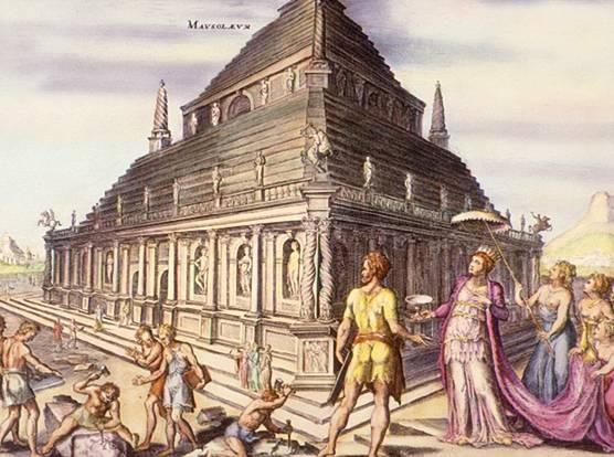 Les 7 merveilles du monde Mausoleum_of_Halicarnassus