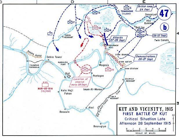 حصار الكوت .........الحرب العالمية الاولى Kut1915