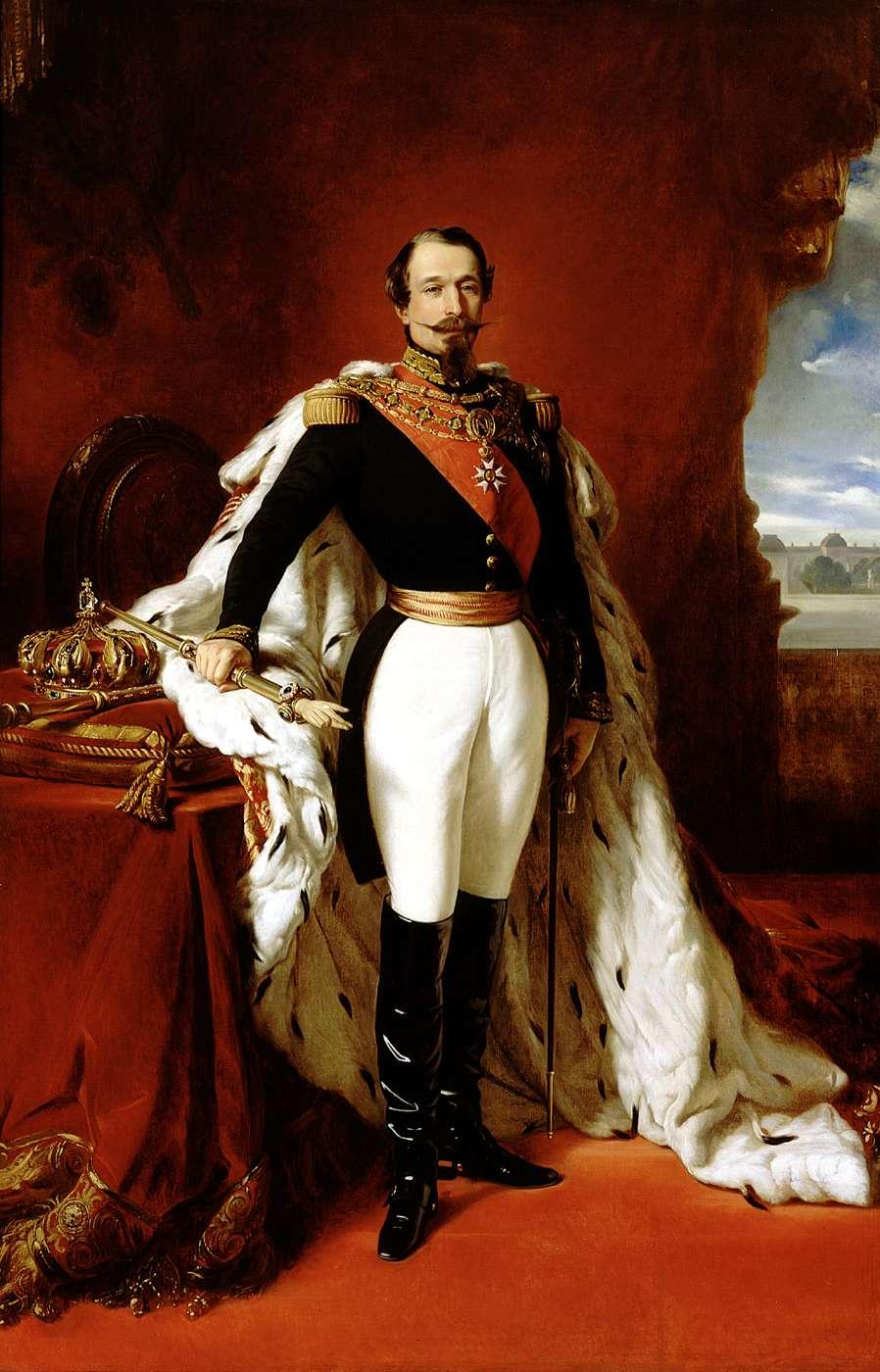 Eugenia de Montijo, emperatriz de Francia Franz_Xaver_Winterhalter_Napoleon_III