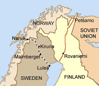 Guerre d'Hiver . Lapland1940