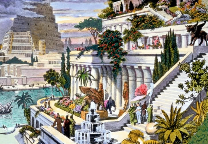 J'aimerais tant voir.... Syracuse(défi terminé) - Page 3 Hanging_Gardens_of_Babylon