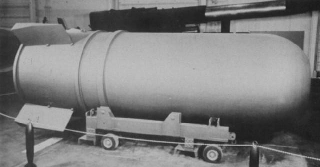 اكبر واقوى الاسلحة التي بنيت على مر العصور  B41_nuclear_bomb