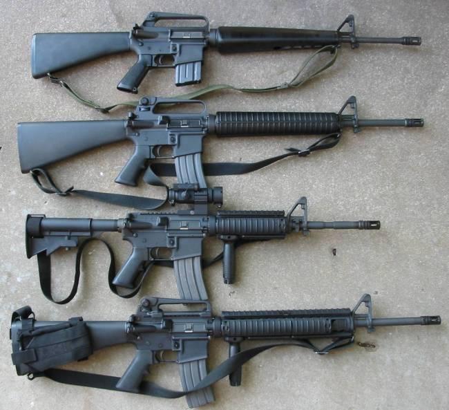 M16 M16a1m16a2m4m16a45wi