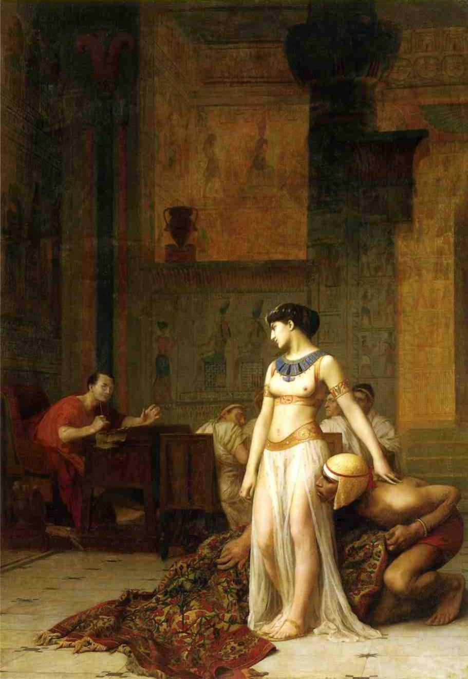 The 2004 movie (ALW version) - Page 2 Cleopatra_and_Caesar_by_Jean-Leon-Gerome