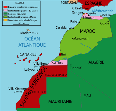 المغرب اول دولة عربية دمرت الاسطول البحري الامريكي Marrocoprotectorate