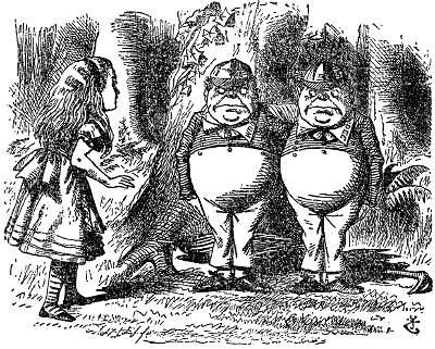 Alice au Pays des Merveilles [Walt Disney - 1951] Tennieldumdee