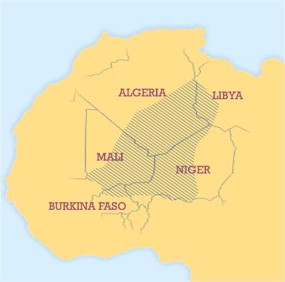 Crise Malienne - risque de partition - Page 5 Tuareg_area