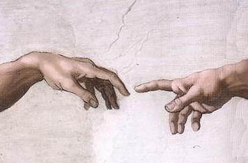 Michelangelo Hands_of_God_and_Adam