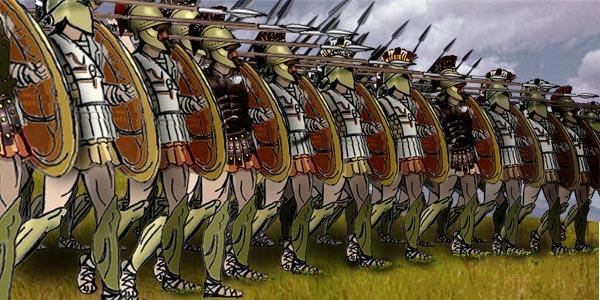 La Batalla de Leuctra, inflexión en la táctica militar (371 a.c) Greek_Phalanx