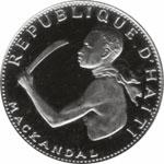 LES FEMMES ET LES HOMMES QUI ONT FAIT L'HISTOIRE/GREAT MEN AND WOMEN IN HISTORY Mackandal_coin_haiti