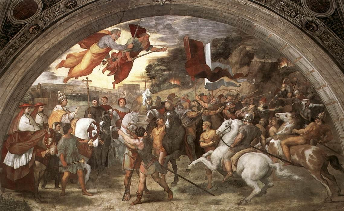 Atila, Rey de los hunos Leoattila-Raphael