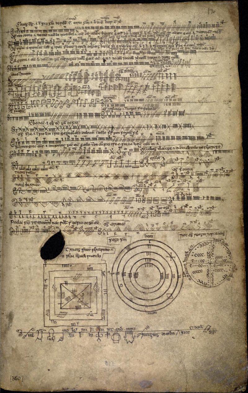Артефакты и исторические памятники - Страница 5 Book_of_Ballymote_170r