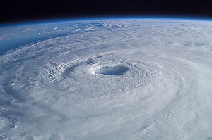 The Bout (ANNIHILATION -vs- FROST 300px-Hurricane_Isabel_from_ISS