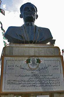 مصطفى بن بولعيد او أسد الأوراس  220px-Benboulaid_buste
