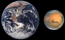 Misiuni ale unor nave de cercetare 220px-Mars_Earth_Comparison