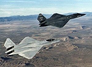 ๑۩۞۩๑  مسابقة الأسئلة و الصور العسكرية   ๑۩۞۩๑   - صفحة 5 300px-Northrop_YF-23_DFRC