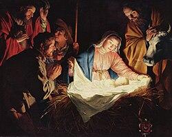 عيد الميلاد (الكريسماس): 7 يناير أم 25 ديسمبر؟ 250px-Gerard_van_Honthorst_001