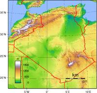 بلاد الجزائر الحبيبة 1 200px-Algeria_Topography