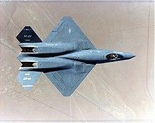 ๑۩۞۩๑  مسابقة الأسئلة و الصور العسكرية   ๑۩۞۩๑   - صفحة 5 220px-YF-23_top_view