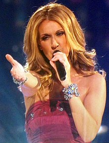 Eurovision Song Contest more than a contest a talent maker 220px-Celine_Dion_Concert_Singing_Taking_Chances_2008