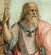 أفلاطون .. احد النوابغ في العالم 180px-Plato-raphael