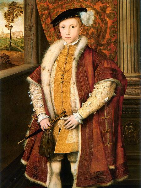 Lady Jane Grey, reina de Inglaterra 449px-Edward_VI_of_England_c._1546