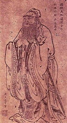 NHỮNG LỜI KHUYÊN CỦA KHỔNG TỬ 220px-Confucius_Tang_Dynasty