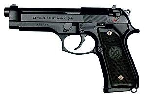 Firearm's Application | [BACA SEBELUM POSTING] 300px-M9-pistolet