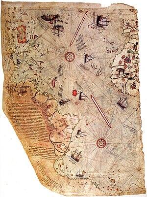 En busca de la edad de oro - Javier Sierra 300px-Piri_reis_world_map_01