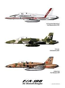اف-18 مقاتلة متعددة المهام  220px-F18Bfamilyweb