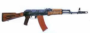 Armes d'Infanterie chez les FAR / Moroccan Small Arms Inventory - Page 5 300px-Ak74assault