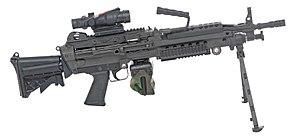 الجيش الامريكي نظرة عن قرب 300px-PEO_M249_Para_ACOG