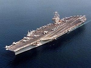 USS NIMITZ 1/700 trumpeter 300px-USS_Nimitz_1997