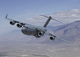 القوات الجويه لدول حلف شمال الاطلنطي (Nato Air Force) 280px-C-17_test_sortie