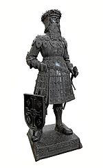 Biographie de Godefroy de Bouillon (1058-1100) 150px-Gottfried_von_Bouillon_%28Hofkirche_Innsbruck%29_2006_0931-3