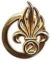 Le béret dans l'armée 101px-Insigne_de_b%C3%A9ret_du_2e_REG