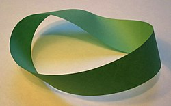 what surface has only one side 250px-M%C3%B6bius_strip