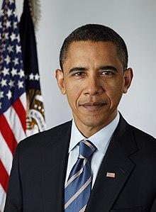 Le racisme inversé - Page 5 220px-Official_portrait_of_Barack_Obama