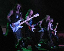 Heavy metal  220px-Iron_Maiden_-_bass_and_guitars_30nov2006