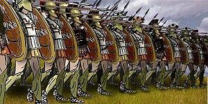 اصل سباق الماراطون 300px-Greek_Phalanx
