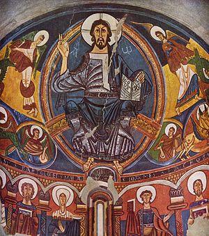 13b. Arte Románico en España 300px-Meister_aus_Tahull_001